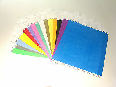 Custom Printed and Plain Tyvek Wristbands, Paper like, Events & Festivals PAPER 2