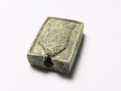 Zurqieh -Cy80- Ancient Egypt , Elegant Steatite Plaque. New Kingdom .1400 B.c 4