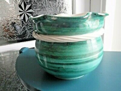 Green Vintage Planter, Limited Edition 4