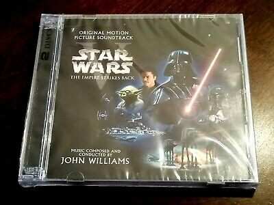 Star Wars Episode V Empire Strikes Back Soundtrack John Williams 2cd Sealed 39 99 Picclick