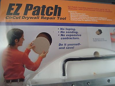 EZ Patch Drywall Gypsum Sheetrock Circle Cutter Repair Tool 3