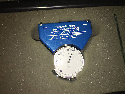 HIX Dial Angle Gauge Indicator with Case! Quality Gauge! 3