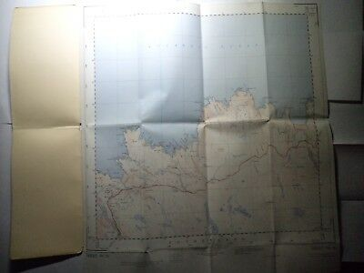 "Ordnance Survey 2.5"" Map NC76 Bettyhill 1963 Card cover. Ist in book. Pristine 2"