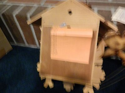 Antique Cuckoo Clock Gebhardt 1966 New 8