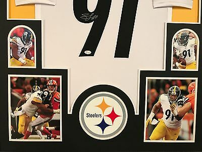 ... Framed Stephon Tuitt Autographed Signed Pittsburgh Steelers Jersey Jsa  Coa f2c0c778e