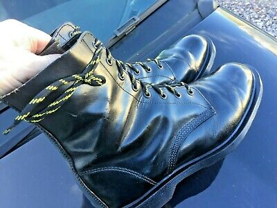 Dr Martens 1460 black leather boots UK 10 EU 45 Made in England 5