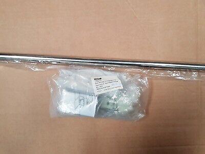 Mira Beat Slide Bar White Chrome Slide Shower Rail Fittings Kit 2.1703.017 3