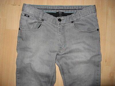 Worn Once Boys Hugo Boss Slim Fit Stretch Straight Leg Grey Jeans Age 12-13-14 5