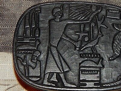 Egyptian Stone Carving. Rich with Symbolism. Mint Conditon. 9