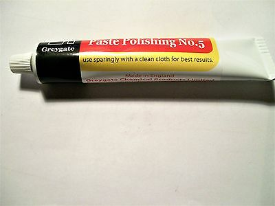GREYGATE BAKELITE POLISH, PASTE POLISHING No5, 60g TUBE 2