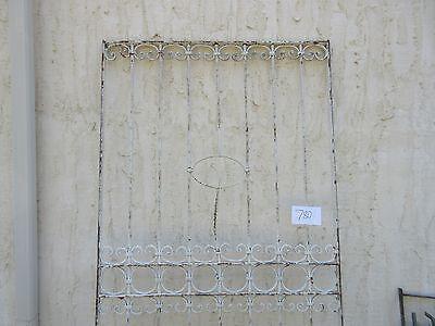 Antique Victorian Iron Gate Window Garden Fence Architectural Salvage #780 2