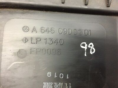 Mercedes-Benz E Class W211 280 CDI left side air filter box 6420901901
