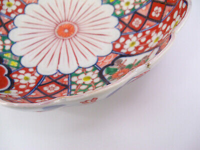Japanese Imari Scalloped Bowl 3