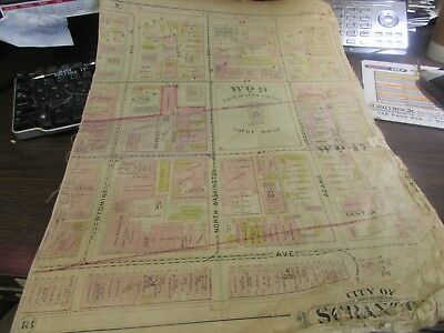 City Of Scranton - 1898 Downtown Map - Ward 8,17,9 - I.c.s, Scranton H.s. (#1) 10
