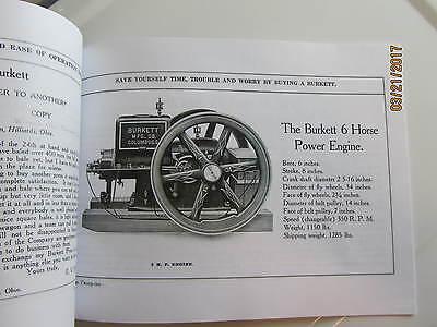 Burkett Manufacturing Gas Engine Hay Press Catalog 3