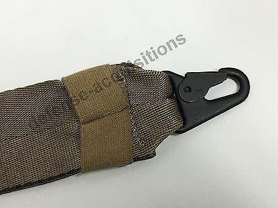 Military Tactical Padded Sling Shoulder Strap COY HK Clips USA MADE Black Buckle