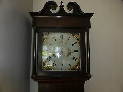 30 hr Longcase clock by Robert Holgate Sagar 3