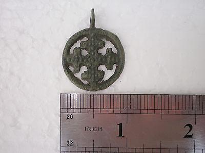 ANCIENT RARE 100% Authentic Viking Cross PENDANT Viking Kievan Rus 9 -11 AD # 4
