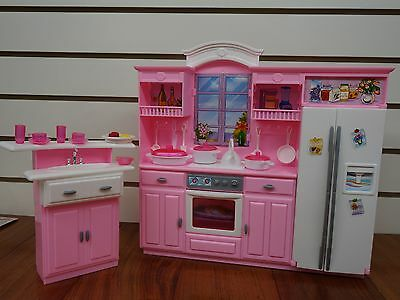 Gloria Barbie Doll House Furniture 24016 My Fancy Life Kitchen