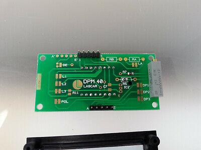 Lascar DPM 40 3 1/2-Digit LED Voltmeter w/200 mV DC, Bezel Mount 3