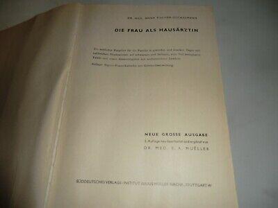 die Frau als Hausärztin incl. Tafeln und Seguro Schiebekalender 3. Auflage 1951 3