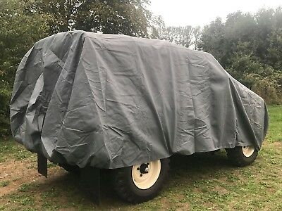 Land Rover Series 1-3 Heavy Duty Cover, Scratch Proof, Waterproof, 4 Layers 11