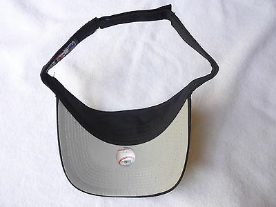 d68e83dac24 Fan Apparel   Souvenirs Baseball-MLB FLORIDA MARLINS MLB BLACK THROWBACK  VINTAGE VISOR CAP HAT NWT!