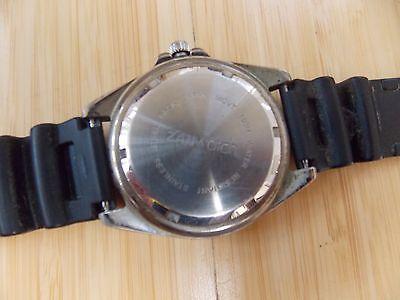 Zanwatch Protime Quartz Mens Stainless Steel Back Wrist Watch 4