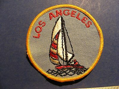 los angeles with sail boat patch 2