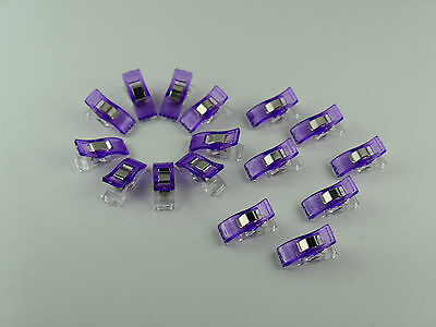 10 - 200 Stück Wonder Clips Nähklammern Stoffklammern Nähzubehör Wonderclips 3