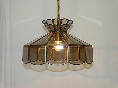 Massive glas deckenlampe messing deckenleuchte tiffany for Massive lampen