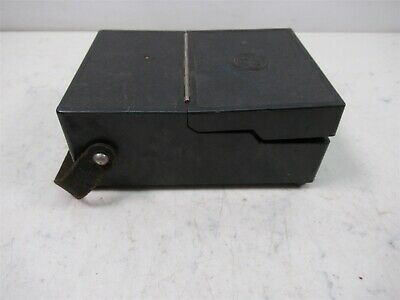 Vintage General Electric Type DP-9 DC Voltmeter Model 8DP9ABA1 Test Unit 8