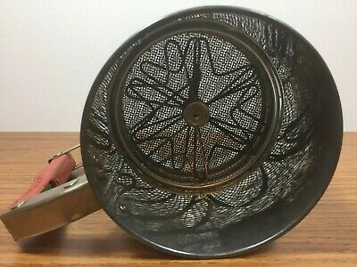 Vintage Androck Metal Flour Sifter Hand I Sift Red Tulips Yellow Kitchen Decor 14 95 Picclick