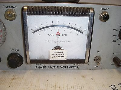 Phase Angle Voltmeter VM-204 S-383 North Atlantic Industries 3