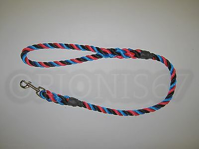 Extra Heavy Duty Dog Clip Lead 14 mm Rope Various Sizes & Colours Handmade 11