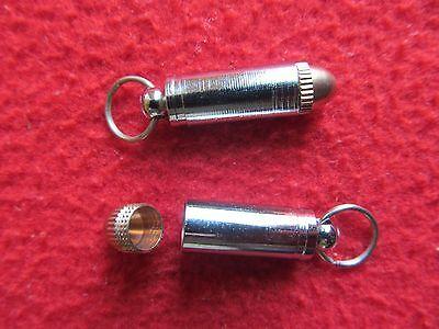 Vintage Tribal Bullet Style Holy Mix Metal Deity Amulet Royal Pendant Necklace