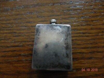 Sterling Silver Snuff Or Scent Bottle Maudie 2