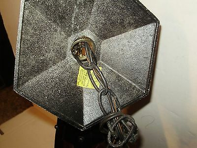 Vintage Antique  Spanish Arts And Craft Hanging Light Excellent! 4