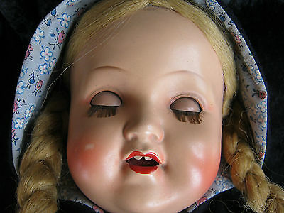 Sehr alte Puppe von Armand Marseille alte Kleidung. sehr schöner Zustand, selten
