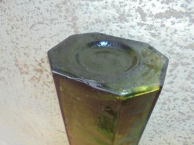 27729 Glasflasche Heinrich Feilner Hof i. B vor 1900 25cm vint Bottle mouthblown 4