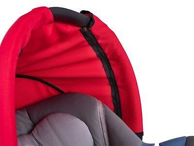 Universal Baby Car Seat Sun Canopy Shade Shield Wind Cover Waterproof Hood 4