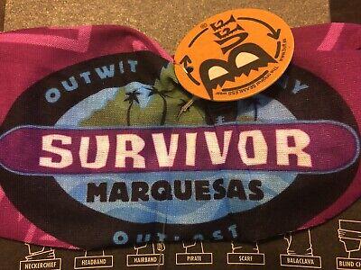 Survivor: Marquesas purple first merge buff w/ card and tag 3