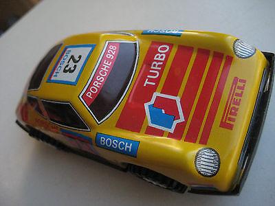 NOS Mechanische Spielwaren Brandenburg MSB Blechspielzeug tin car DDR Modellauto