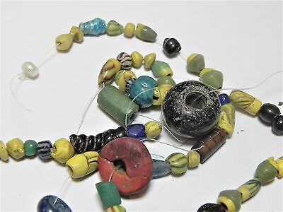 Zurqieh -Af1812-  Ancient Egypt. Lot Of Beads, Mostly Glass, Mostly Roman. 200 A 5