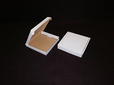 White Postal Cardboard Boxes Small Mailing Shipping Cartons Multi Listing PIP 9