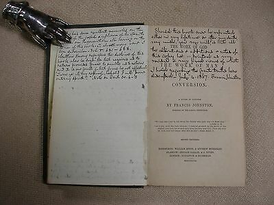 The Work of God in Conversion - Author's copy (Francis Johnston) - 1848 3