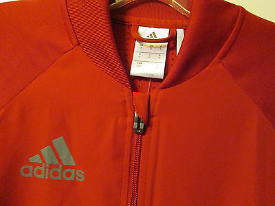 0c0e3d19fdc7 ...  65 Adidas Condivo 16 Training Jacket Red Vista Grey Athletic Soccer  ClimaCool 4