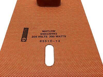 "Watlow 050220502 Silicone Rubber Heater Length: 22"", Width: 5"" 208V, 300W 2"