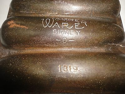 Krusty Korn Kobs Wagner Ware Junior 1319 Sidney Corn Bread Muffin Cast Iron Pan