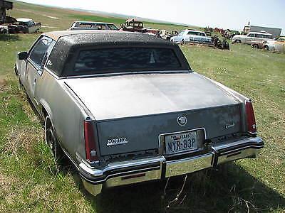 1982 CADILLAC ELDORADO Parts Car 1979 1980 1981 1983 1984 1985